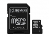 Kingston microSDHC 8GB + adapter SD